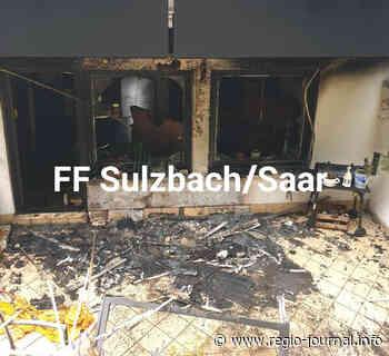 40 Einsatzkräfte löschen Brand in Sulzbach   Aktuelle Nachrichten   Sulzbach/Saar - Regio-Journal