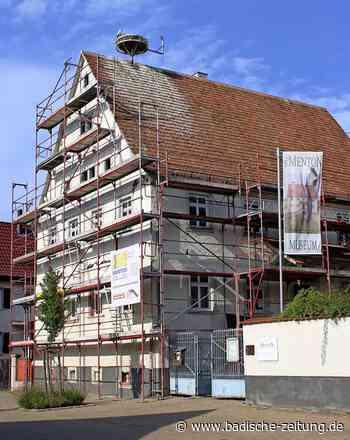 Viel Ärger um ein Gerüst - Teningen - Badische Zeitung - Badische Zeitung