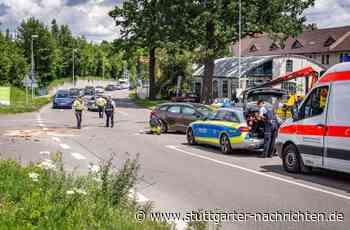 Metzingen - Sechs Verletzte bei Unfall auf Kreuzung – darunter auch ein Baby - Stuttgarter Nachrichten