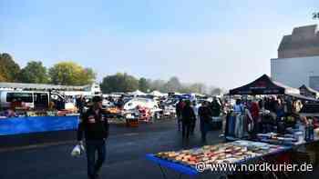 Endlich wieder Flohmarkt in Anklam - Nordkurier