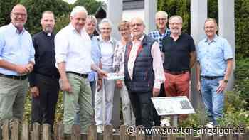 Ense: Gedenktafel für den Wegbereiter der Deutsch-französischen-Freundschaft - Soester Anzeiger