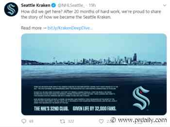 Hearst president resigns after sexual harassment claims, Twitter to test subscriptions as revenues fall, and Seattle's NHL team releases the 'Kraken' - PR Daily