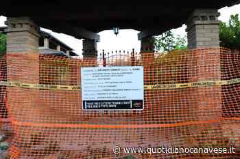 SAN GIUSTO CANAVESE - Libera davanti alla villa confiscata ad Assisi: «Chiediamo che i lavori vengano fatti quanto prima» - QC QuotidianoCanavese