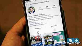Erndtebrücks Bürgermeister Gronau jetzt auf Instagram - Westfalenpost