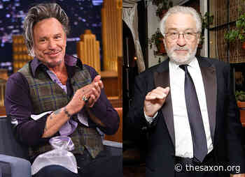 """New conflict: why Mickey Rourke calls Robert De Niro """"a jerk and a crybaby"""" - The Saxon"""