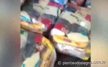 VÍDEO: servidor de Araruama denuncia presença de ratos e pombos em local de armazenamento de cestas básicas - Plantão dos Lagos