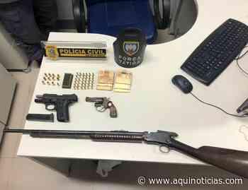 Assaltantes que 'limparam' casa em Iúna são presos em Muniz Freire em ação conjunta da PM e PC - Aqu - www.aquinoticias.com