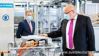 Altmaier bei BMW: Industrie und Klimaschutz kein Gegensatz - Süddeutsche Zeitung