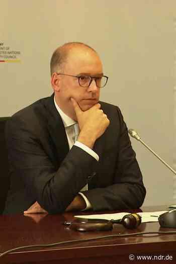 Niels Annen leitet Sitzung des UN-Sicherheitsrats - NDR.de
