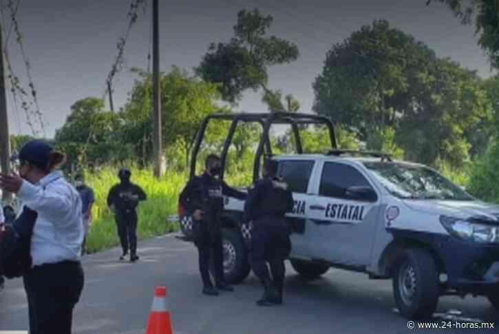 Policías municipales son asesinados a balazos en Misantla, Veracruz (+video) - 24 HORAS