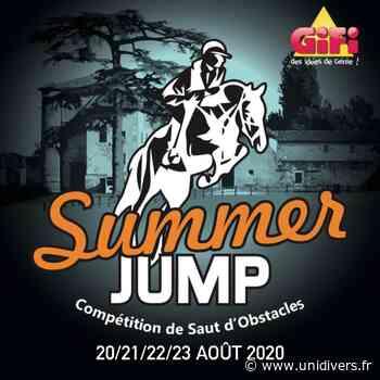 Summer Jump édition 2020 jeudi 20 août 2020 - Unidivers
