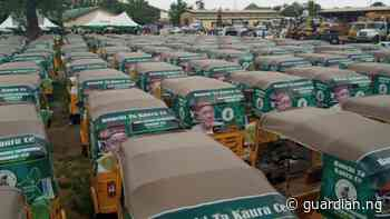 Bauchi government distributes 345 tricycles to ease transport - Guardian