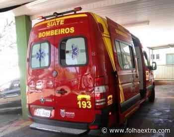 Idosa fica ferida após ser atropelada em Jacarezinho - Folha Extra