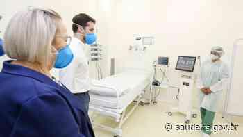 Reforço no enfrentamento à Covid-19, Hospital de Charqueadas abre primeiros leitos de UTI - Secretaria da Saúde