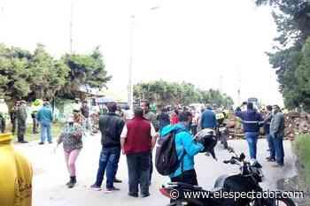 Autoridades de Cundinamarca piden a los habitantes de Tenjo no bloquear las vías - ElEspectador.com