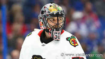 Blackhawks' Corey Crawford confirms absence from camp was due to positive COVID-19 test