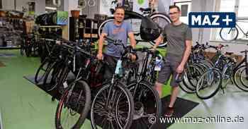 Luckenwalde: Schwere Zeiten für Fahrradhändler durch die Coronakrise - Märkische Allgemeine Zeitung