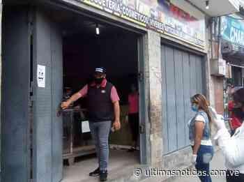 Clausuran 37 comercios por violar normas de bioseguridad en Charallave - Últimas Noticias
