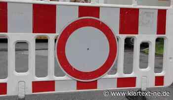 Grevenbroich - Pötzplatz wegen Wasserrohrbruch gesperrt   Rhein-Kreis Nachrichten - Rhein-Kreis Nachrichten - Klartext-NE.de