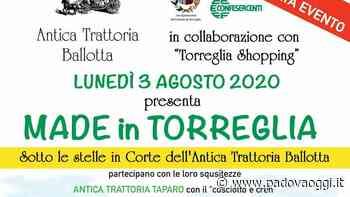 """""""Made in Torreglia"""": negozi, cibo e vino all'Antica trattoria Ballotta - PadovaOggi"""