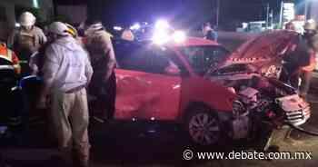 Automovilista sufre fuerte accidente en la carretera Santa Rosa- La Barca - DEBATE