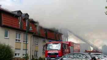 Brandursache in Templin noch ungeklärt - Nordkurier