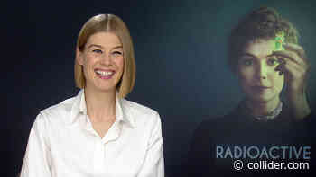 Rosamund Pike on Playing Marie Curie in Marjane Satrapi's Radioactive - Collider.com