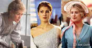 From Bond girl to 'Gone Girl,' Rosamund Pike on her most memorable roles - Entertainment Weekly