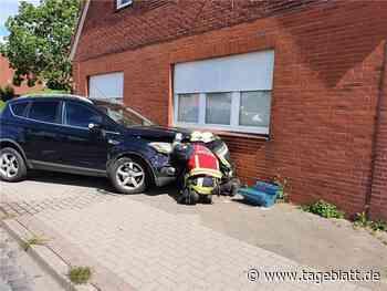 Unfall in Drochtersen: Ford Kuga kracht in Wohnhaus - Blaulicht - Tageblatt.de - Tageblatt-online
