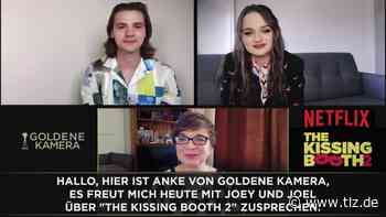 "Joey King und Joel Courtney über ""The Kissing Booth 2"" - Thüringische Landeszeitung"