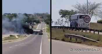 Varios policías resultaron heridos por ofensiva terrorista en Pelaya, Cesar - Seguimiento.co