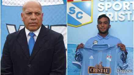 """¡Mensaje a los celestes! Roberto Mosquera: """"Jhon Marchán es un talento natural, le va a agradar a la afición"""" - RPP Noticias"""