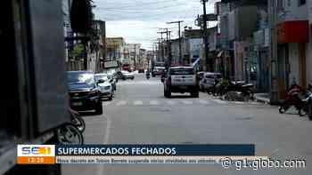 Prefeitura de Tobias Barreto interdita parques e praças até o dia 31 de julho para tentar frear disseminação do coronavírus - G1