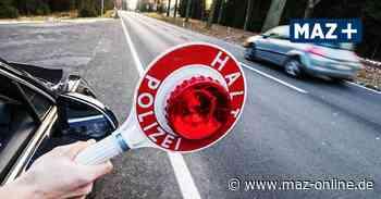 Verkehrskontrolle in Kremmen endet für Autofahrer im Gefängnis - Märkische Allgemeine Zeitung