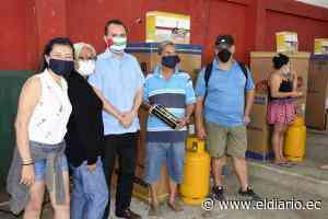Comité de Guayaquil entregó ayuda a afectados por incendio en Portoviejo - El Diario Ecuador