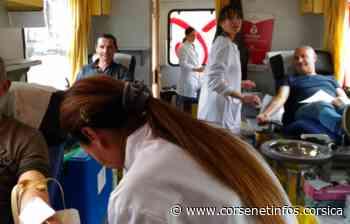 Porto-Vecchio : appel aux donneurs pour la collecte de sang des 27 et 28 juillet - Corse Net Infos