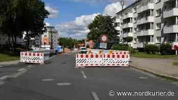 Baustellen: Ausbau der B198 in Prenzlau kommt voran   Nordkurier.de - Nordkurier