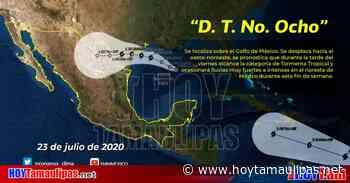 Tamaulipas Matamoros Texas Depresin Tropical 8 ser Tormenta Tropical esta madrugada - Hoy Tamaulipas