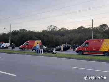 Cinco pessoas ficam feridas em acidente em São José dos Pinhais - CGN