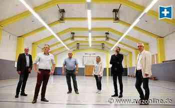 Minister überbringt Förderbescheid: Sporthalle in Sande erhält kräftige Fitnesskur - Nordwest-Zeitung