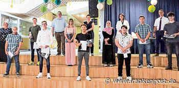Marktredwitz: Mittelschule Marktredwitz ehrt ihre Besten - Frankenpost