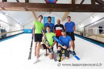 La crème du slalom français en préparation indoor à Passy - lessorsavoyard.fr