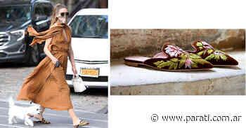 Los zapatos que elige Olivia Palermo para sus looks más cómodos y... - Para Ti