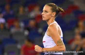 Pliskova pide una WC para Palermo con una condición - Punto de break