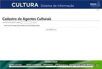 Agentes e profissionais da cultura de Marechal Rondon devem se habilitar na tentativa de acessar auxílio financeiro - O Presente