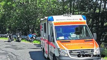 Unfall nahe Neuenstein: Motorrad verliert Kontrolle - Biker schwer verletzt - hna.de