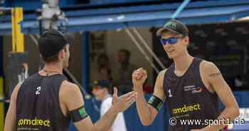 Road To Timmendorfer Strand: Julius Thole und Clemens stürmen in Halbfinale - SPORT1
