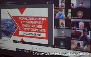 Cumplen 100% oficiales de seguridad de Cananea con Certificado Único Policial: SSP - Termómetro en linea