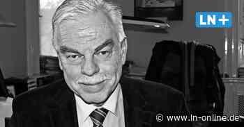 Fehmarn: Ehemaliger Bürgermeister Otto-Uwe Schmiedt ist tot - Lübecker Nachrichten
