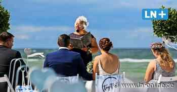 Heiligenhafen wird zur Hochzeitskulisse: Mutter traut eigene Tochter - Lübecker Nachrichten